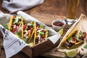 tacos-prepared-in-a-food-truck